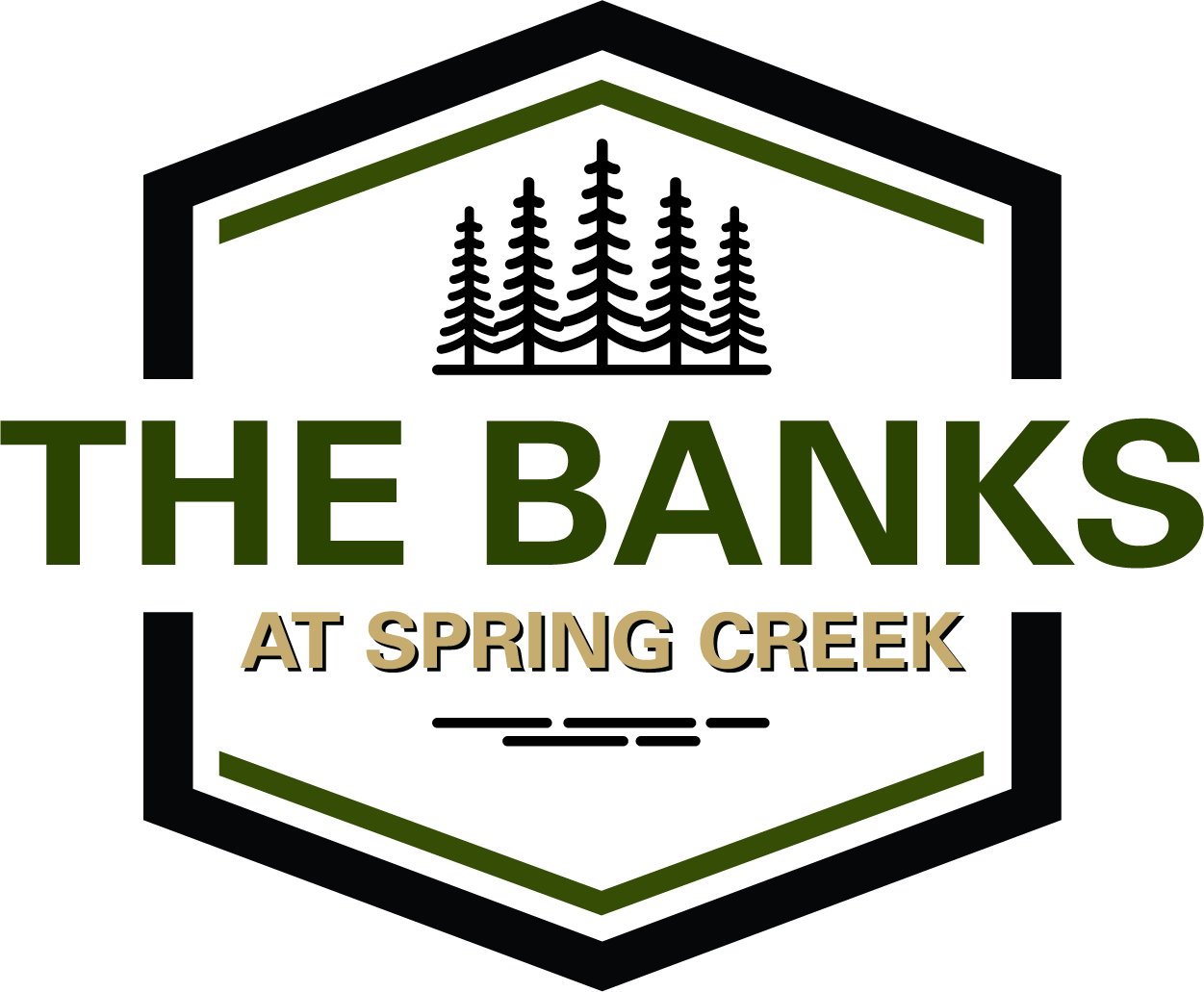The Banks Logo Colour with shadow