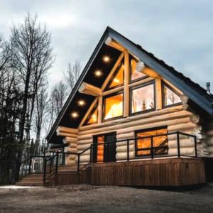 The Banks at Spring Creek Properties Log House